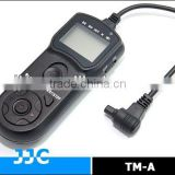 JJC TM-A Timer Remote Controller&Camera Remote Switch replaces TC-80N3 for Canon EOS 5D Mark III etc