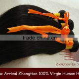 2015Cheap New Stylish Unprocessed Black 100% Remy Virgin Human Brazilian Natural Wave Hair Bulk
