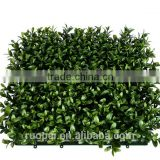Artificial Boxwood Mat Foliage 10''*10'' Plastic Panels                                                                         Quality Choice