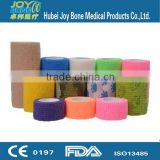 Self Adhesive Medical Surgical Tape Lightweight Elastic Cohesive Bandage