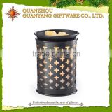Wholesale Painted Hollow Out Electric Candle Holder & Aroma Oil Burner                                                                         Quality Choice