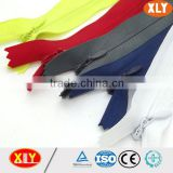 original manufacturer supply nylon concealed zips,close end invisible zipper
