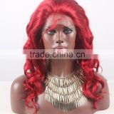 Alibaba Express Top Sale for fully hand tied Human hair Wig with full lace base in hair color #36