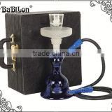 Al fakher Wholesale Best price Shisha Hookah Glass with LED light Act clear Glass Hookah