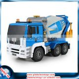 1:20 27MHz 8-channel rc concrete mixer truck with automatic demonstration funtion, educational toy for big kids