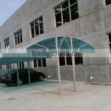 xinhai OWS Bayer material 6mm polycarbonate multi wall plastic plates for carport shelter