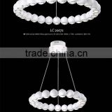 2015 fantasy hotel decorative white pendant lamp/chandelier led for hotel LC20071/LC20072