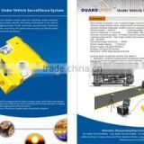 Under vehicle surveillance system, under car scanning system, under vehicle checking
