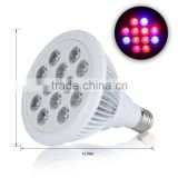 12W High Efficient Grow Lights Greenhouse Growing and Flowering Lamps for Indoor Garden and Hydroponic Plants