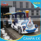 park trains for sale!Family style mini amusement park big elephant electric train for sale