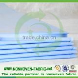 raw materials for diaper making,nonwoven fabric suppliers,30gsm soft SMS/SS non-woven for medical