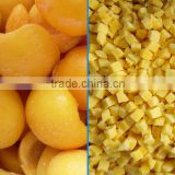 IQF frozen Yellow peach strips with good quality and hot price