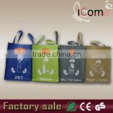2015 factory wholesale custom durable laminated non woven Shopping bag/shopping bag with logo/ garbage bag