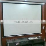 150 Inch 4:3 Motorized projector screen with remote control