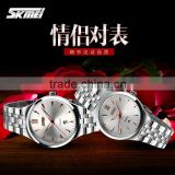 High quality japan movt quartz SKMEI attractive stainless steel watches for men/women