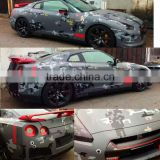 custom design printing removable car sticker, color changing sticker of car body with top quality