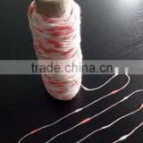 1/3.57NM blended fancy sausage yarn 60%nylon 26%cotton 14%acrylic