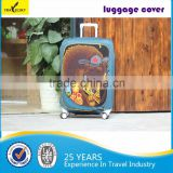 Travelsky personalize spandex protective luggage cover                                                                         Quality Choice