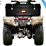 SCC SD1-R85 Motorcycle Capacity of Super Luxurious Sunken Design Back Open 85L ATV Rear Luggage Box Rear Tail PE Box