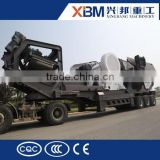 Factory direct supply mobile crusher gold mining machine