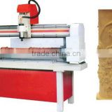 CNC cylinder engraving machine/cylinder cnc router double heads machine for wood engraving with Good quality and good reputation