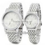 2013 HOT SELL!Couple brand watch,lover watch,gift watchnewest round alloy /stainless watch