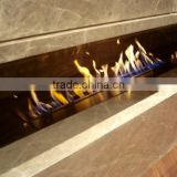 Alcohol fireplace Customize / caved natural indoor marble fireplace