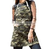 Custom Cotton Camouflage Full Garden BBQ Grill Mabnifier Apron Penis