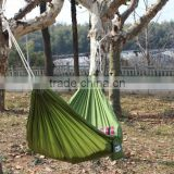 140*300cm single color nylon lightweight parachute camping hammock