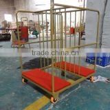 Hot sale Turning table Trolley / trolley glass table cart / Lazy susan glass table trolley