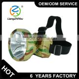 OEM powerful hotsale ABS material led headlamp for hunting camping mining usage