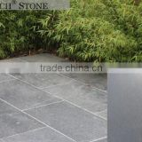 Building material Black/Grey basalt lava stone courtyard paver,basalt stone, flamed brushed lava stone for sale