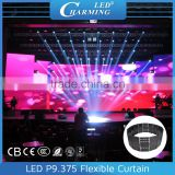 Alibaba hot selling RBG digital led curtain wall light for concert stage background