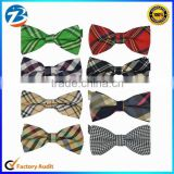 Wholesale Cheap Fashion Men Polyester Jacquard Dots Bow Ties                                                                         Quality Choice