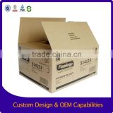 Heavy duty color printed corrugated shipping box                                                                         Quality Choice