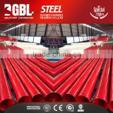 Alibaba China Manufacturer Round Section Shape hollow fire hydrant steel pipe for construction