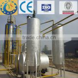 crude oil from tyre pyrolysis plant change to be diesel oil distillation machine