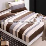 wholesale custom print fitted bed sheet, fitted crib sheet