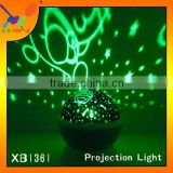New ! Hot sale color changing LED Projection Light From China Supplier Creative USB Charging or Battery Operated Projector Light