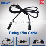 DSunY 1.5m extended cord for the MP&FP series LED Aquarium Light,connecting the controller and panels,daisy-chain,sunrise&sunset