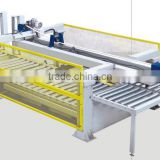 Beam panel saw with side loading system