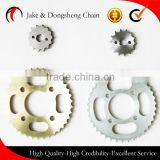 ZHEJIANG CHINA 1045 STEEL motor parts drive fine blanking bajaj indian trecycle parts max web yes ybr chain and sprocket per set