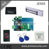 Ethernet Wiegand network TCP IP 4 Door Access Control System+Power+Lock+Reader+Exit Button