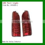 hiace 200 tail lamps tail lights #000488-1 LED Tail Light Black KDH200 led light Toyota body parts