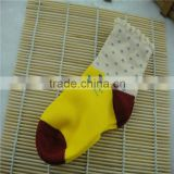 cotton baby sock with white and green color ,wholesale children sock,cute cat,drop style with logo