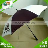 135cm good quality promotional golf umbrella for sale