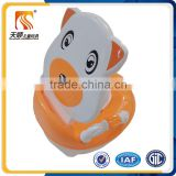 china new model baby inflatable portable squatty potty in cartoon design