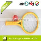 New Product Top Quality 26.4 * 14.6 CM Foam Beach Table Tennis Racket With Ball For Sale