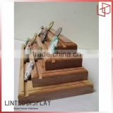 Factory Wholesale Price Solid Wood Display Stand For Cions