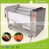 Ginger Washer and Peeler Root Vegetable Lotus Root Washing Cleaning Skin Removing Machine